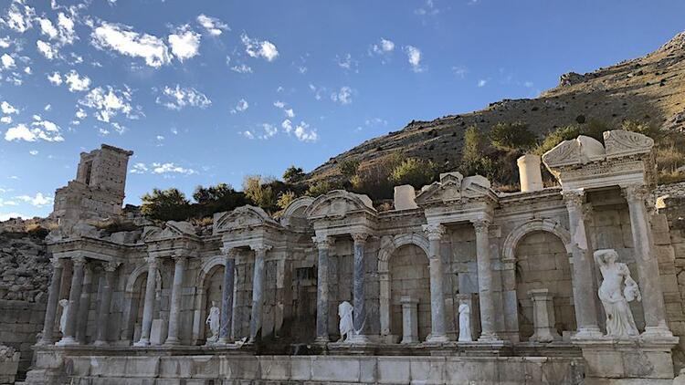 Pisidya'nın en önemli şehri ve dini merkezi: Sagalassos
