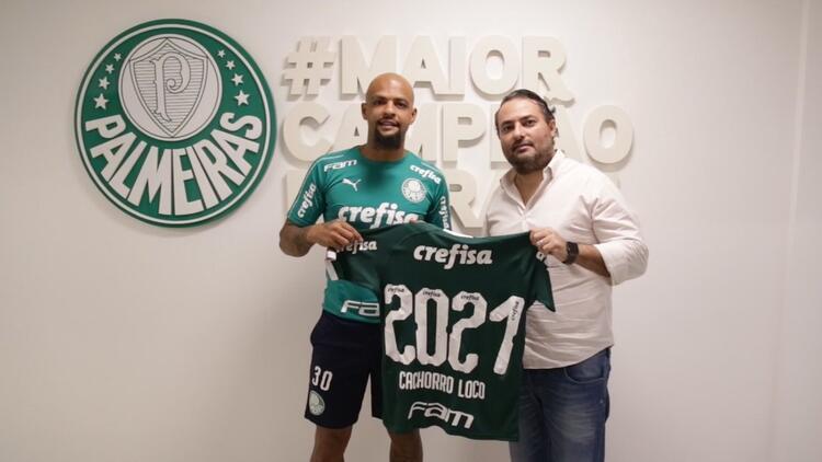 Felipe Melo 2 yıl daha Palmeiras'ta!   Transfer haberleri...