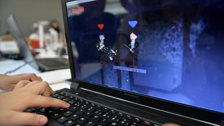 Öğrenciler tasarladıkları bilgisayar oyunlarıyla yarıştı