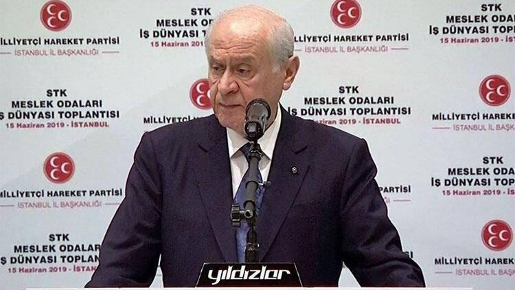 MHP lideri Devlet Bahçeli: Dev uyanmakla kalmadı zulmün bekçilerine meydan okumaya başladı