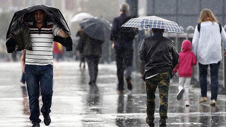Bu bölgelerde yaşayanlar dikkat! Kuvvetli yağış bekleniyor…