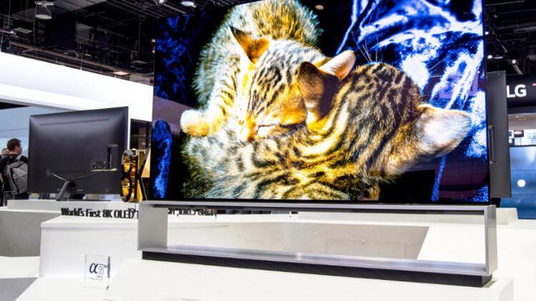 LG, 8K OLED TV'sinin satışına başladı