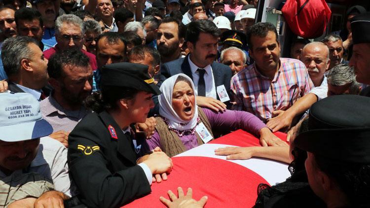 Şehit Jandarma Teğmen Evran, Afyonkarahisar'da toprağa verildi