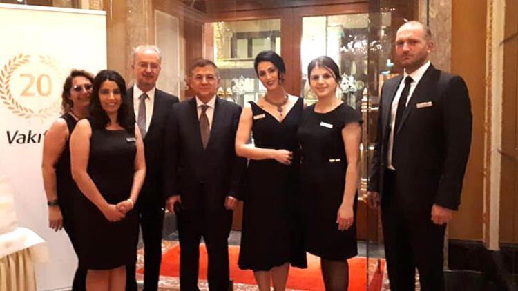 Vakıfbank International Avusturya'daki 20'nci yılını galayla kutladı