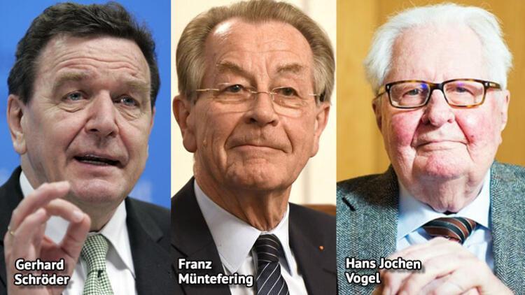 SPD eski başkanlarından parti üyelerine birlik çağrısı