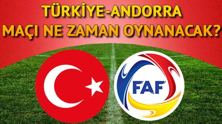 Milli maç ne zaman oynanacak? Türkiye- Andorra maçı ile ilgili bilgiler