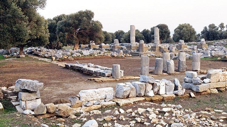 Dionysos Tapınağı ortaya çıkarılacak