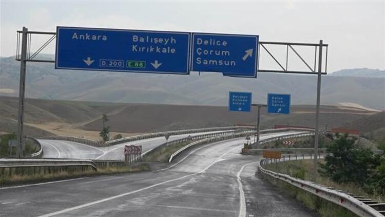Yozgat - Ankara - Samsun kara yolu trafiğe açıldı