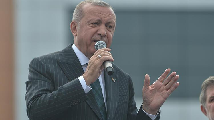Son dakika: Cumhurbaşkanı Erdoğan Bahçelievler'de toplu açılış töreninde konuştu