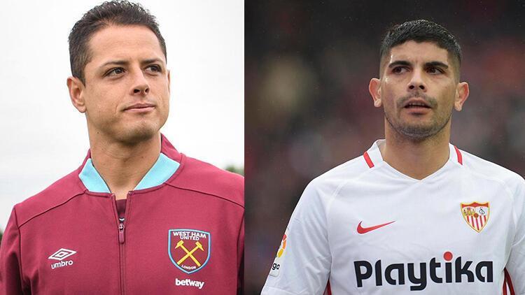 Banega ve Chicharito transferleri Diagne'nin satışını bekliyor!