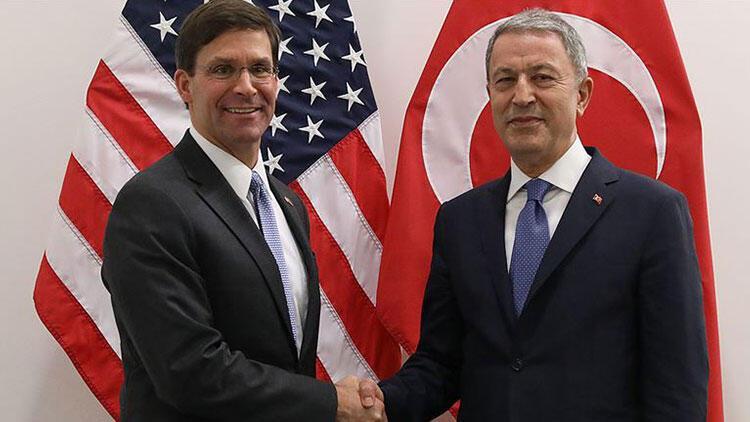 Bakan Akar, ABD Savunma Bakanı Vekili Esper'le görüştü