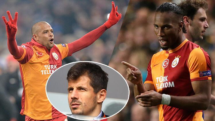 Drogba'dan Melo'ya olay kutlama! Emre Belözoğlu...