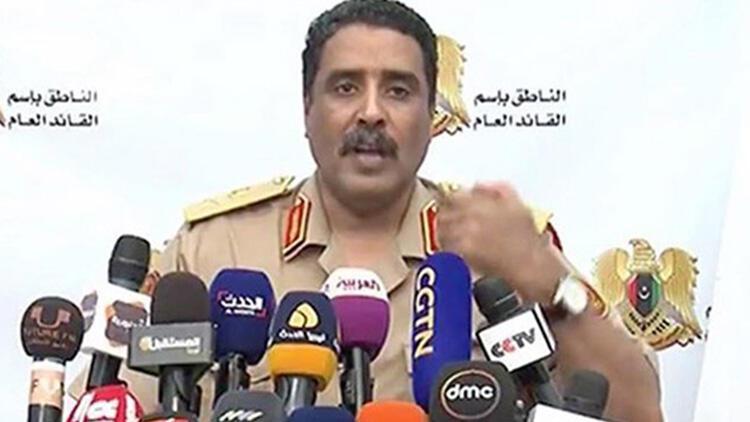 Libyalı Hafter güçlerinin sözcüsünden Türkiye'ye tehdit