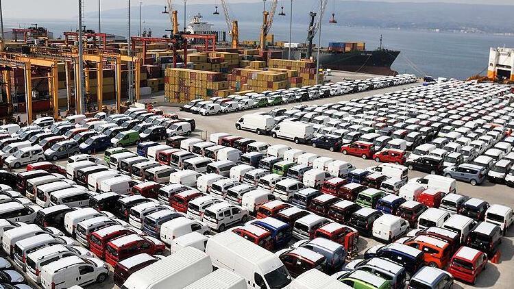 Sakarya'dan 5 ayda yaklaşık 110 bin araç ihraç edildi