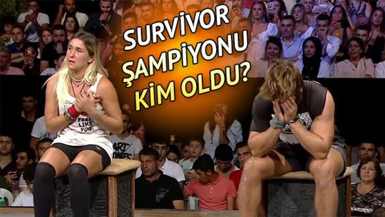 Survivor 2019 şampiyonu kim oldu? İşte Survivor Türkiye birincisi