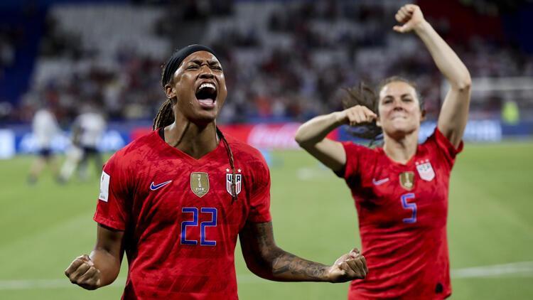 İngiltere'yi mağlup eden ABD, adını finale yazdırdı