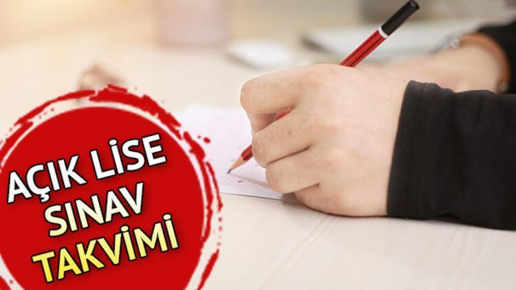 Açık lise sınav giriş yerleri açıklandı! AÖL 3. dönem sınavları ne zaman?