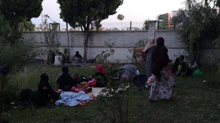 Ayvalık'ta 35 kaçak göçmen yakalandı