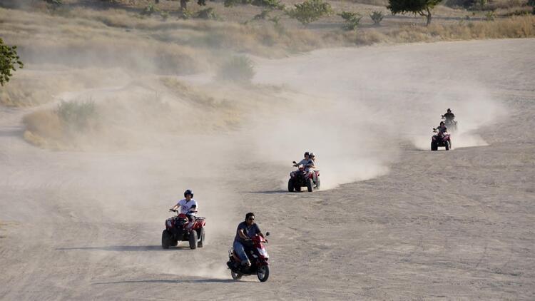 ATV ile Kapadokya turuna ilgi