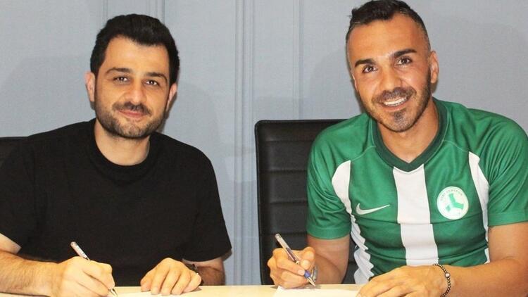 Giresunspor'dan bir transfer daha! 30 yaşındaki...