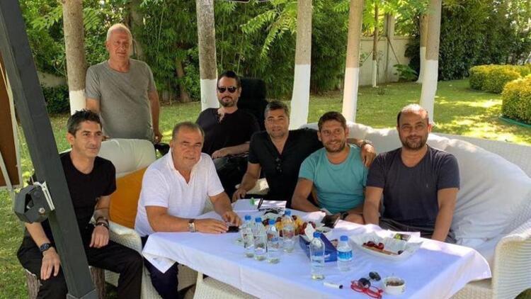 Galatasaray'da transfer zirvesi! Fatih Terim ve ekibi...