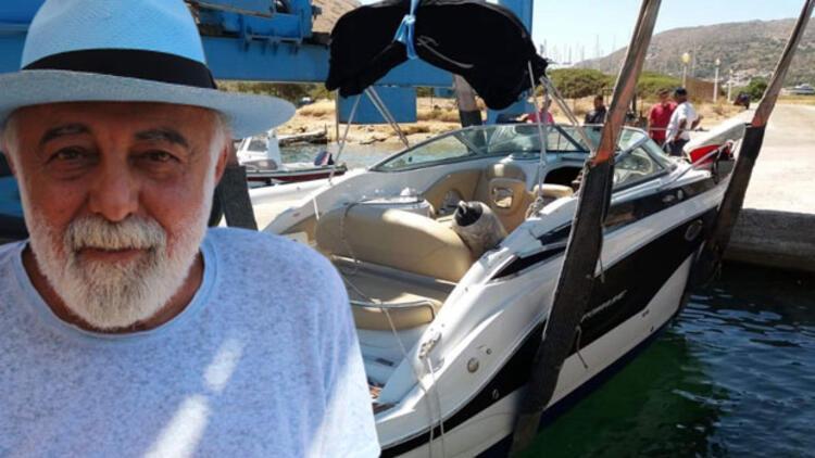 Sosyetenin korkulu rüyası! Denize açılmak için teknesinin yanına giden ünlü iş adamı şok oldu