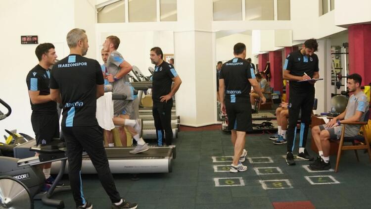 Trabzonspor laktat testinden geçti