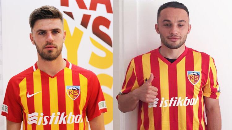 Kayserispor, Ziya Alkurt ve Mert Kula'yı transfer etti