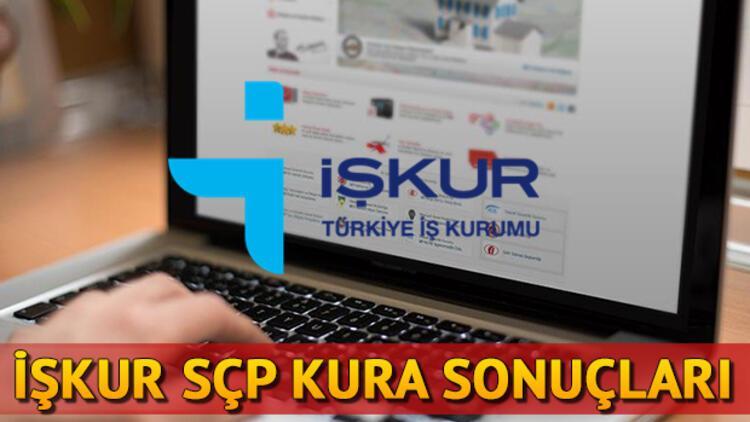 İŞKUR Sosyal Çalışma Programı sonuçları açıklandı! SÇP kura sonuç sorgulama ekranı