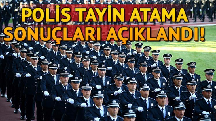 EGM polis tayin atama sonuçları açıklandı! POLNET detayı!