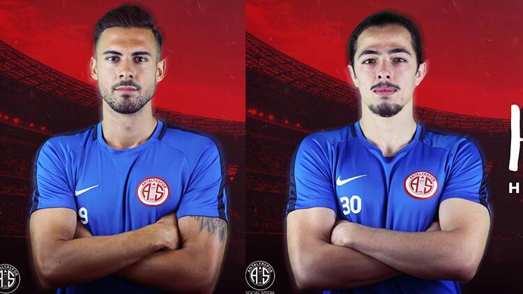 Antalyaspor'da Ufuk Akyol ve Harun Kavaklıdere imzayı attı