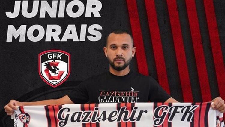 Gazişehir Gaziantep, Brezilyalı Junior Morais'ı transfer etti