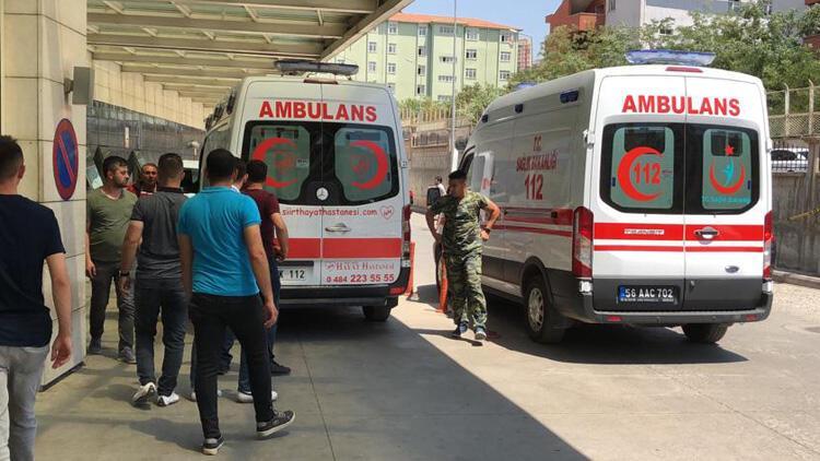Siirt'te PKK'lı teröristlerce yola tuzaklanan patlayıcı infilak etti