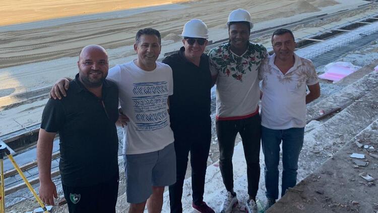 Yeni transfer Rodallega, Denizli'ye geldi