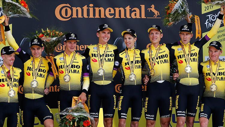 Fransa Bisiklet Turu ikinci etabını Jumbo-Visma takımı kazandı