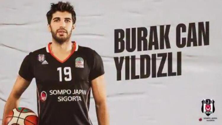 Beşiktaş Sompo Japan, Burak Can'ın sözleşmesini uzattı