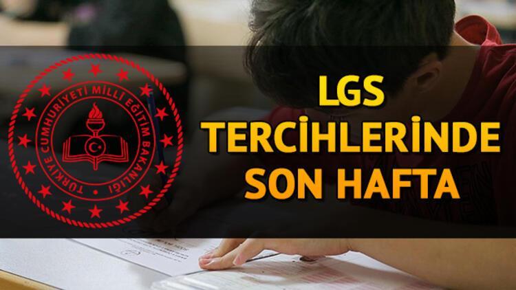 LGS tercihlerinde son hafta! LGS yerleştirme sonuçları ne zaman açıklanacak?