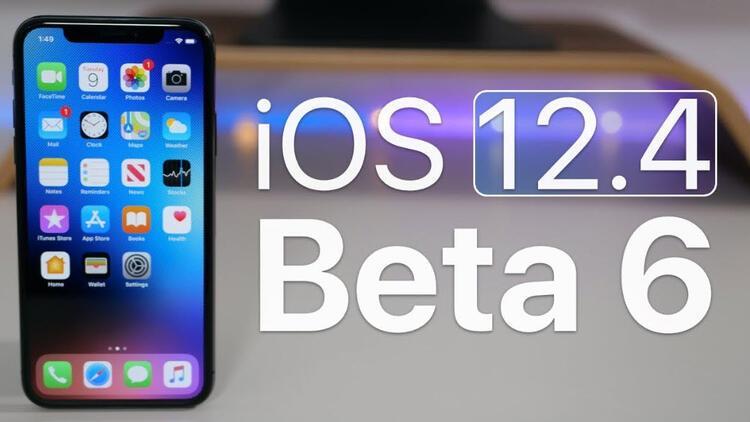 iOS 12.4 beta 6 yayınlandı! Yeni neler var?