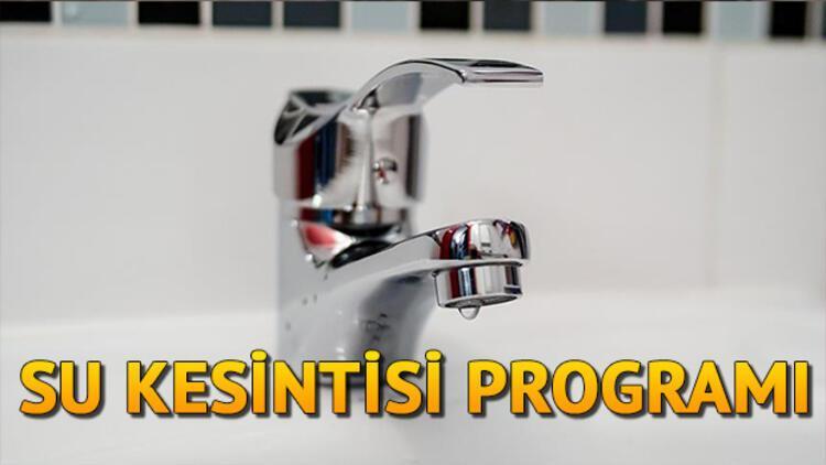 İzmir'de sular ne zaman gelecek? 10 Temmuz İZSU su kesintisi programı