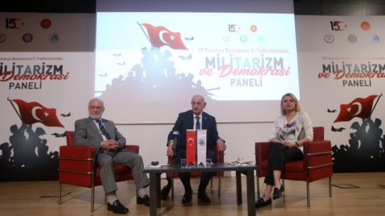 Militarizm ve Demokrasi Paneli düzenlendi