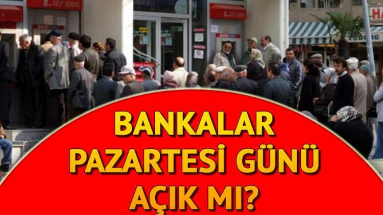 15 Temmuz'da (yarın) bankalar ve PTT'ler açık mı?
