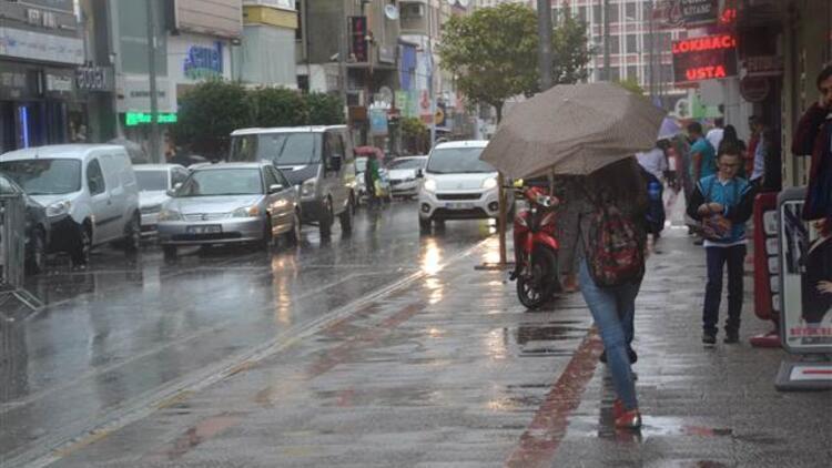 Son dakika... 5 il için kuvvetli yağış uyarısı