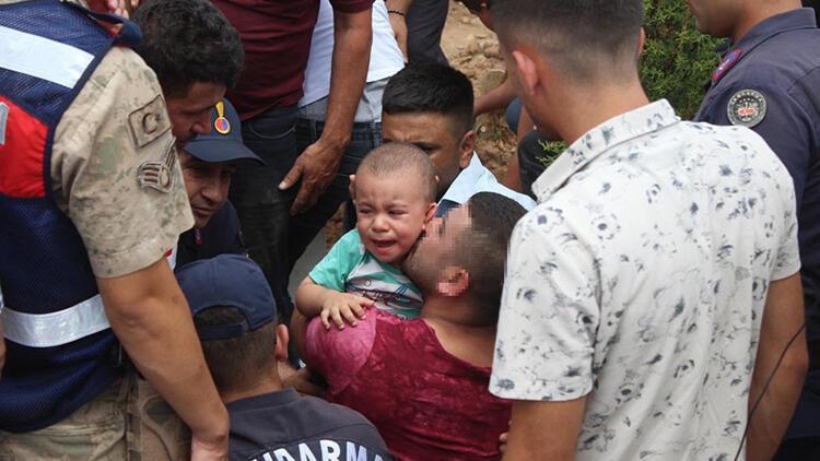 Yangında yaşamını yitiren küçük Bakican son yolculuğuna uğurlandı