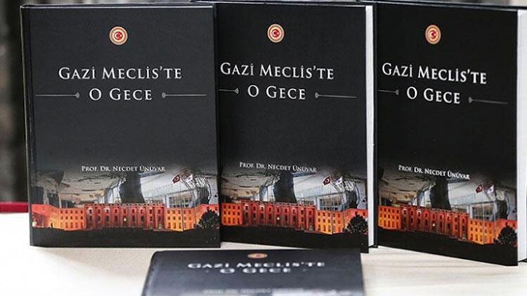 'Gazi Meclis'te O Gece' kitabı karekod ile yayınlandı
