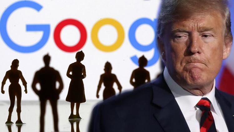 Trump'tan Google çıkışı