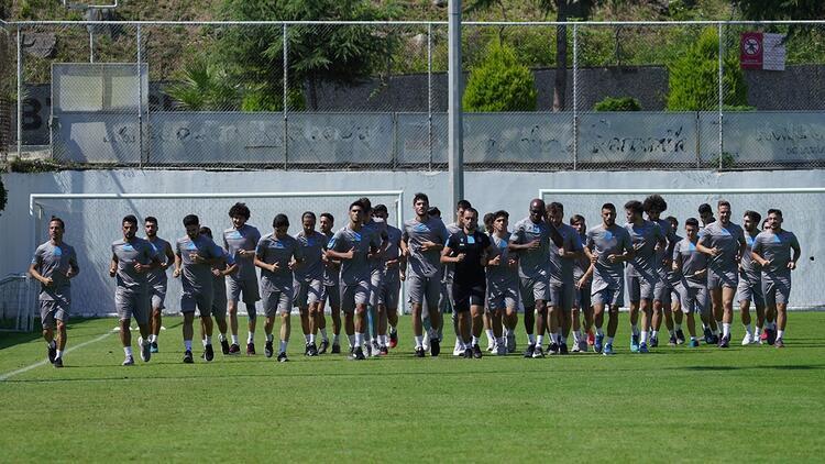 Trabzonspor'da yeni sezon hazırlıklarının ilk etabı bitti!