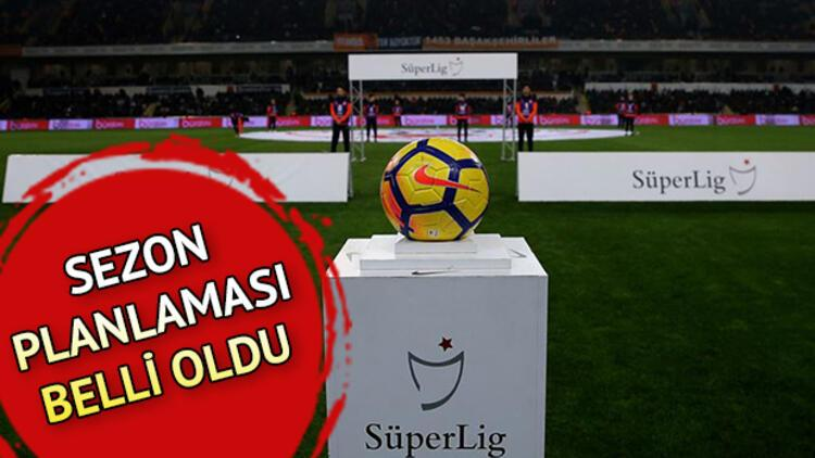 Süper Lig ne zaman başlayacak? 2019-2020 sezonu ne zaman açılacak?