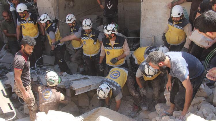 Esed rejiminin İdlib'e hava saldırılarında 2 sivil öldü
