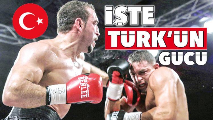 Türk profesyonel boksunun dünyadaki temsilcisi