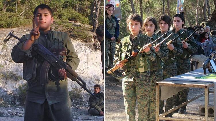 YPG/PKK çocukları savaşçı, okulları mühimmat deposu yaptı